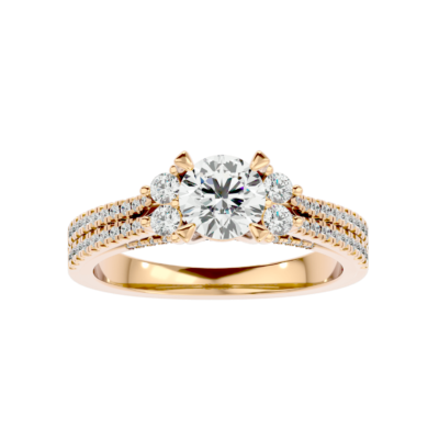 Solitaire Diamond Engagement Ring R0189