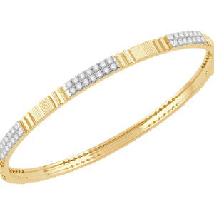 Gold Diamond Bangle V0778CP