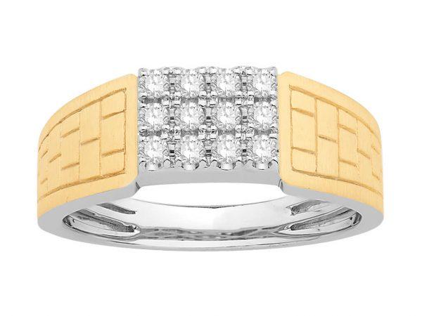 Men Traditional Diamond Engagement Ring WM0244