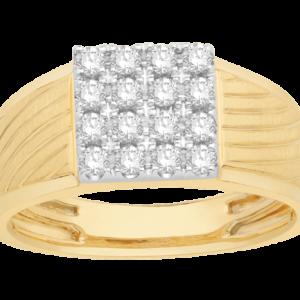 Men Traditional Diamond Engagement Ring WM0250