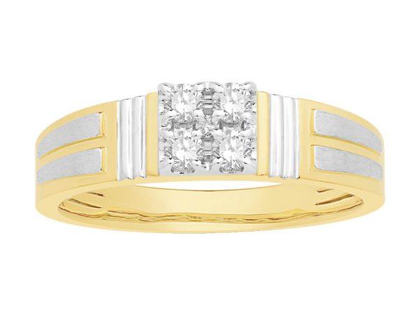 Men Traditional Diamond Engagement Ring WM0274
