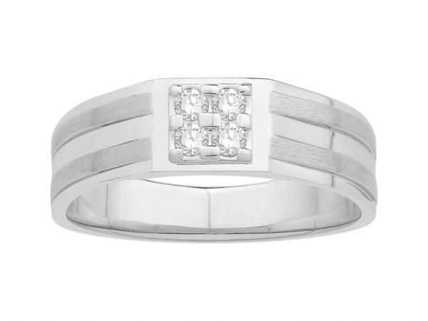 Men Traditional Diamond Engagement Ring ZMM01695G