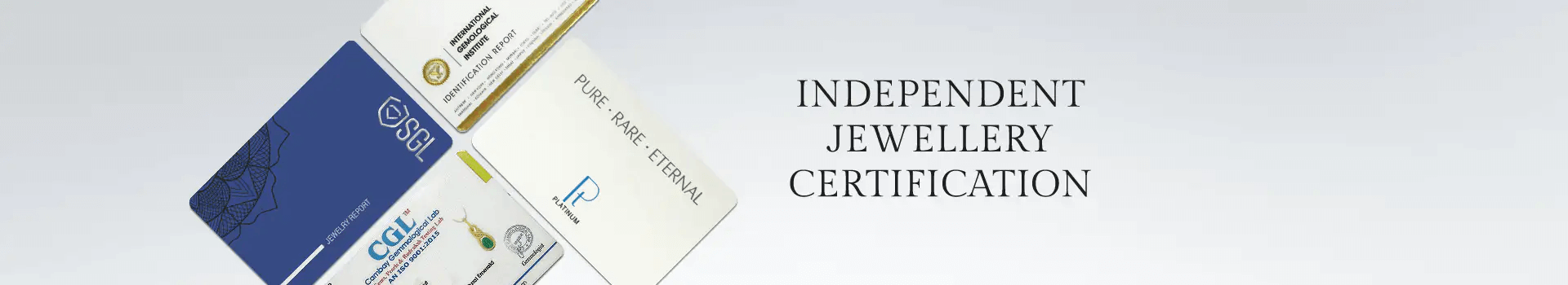 only certified jewellery