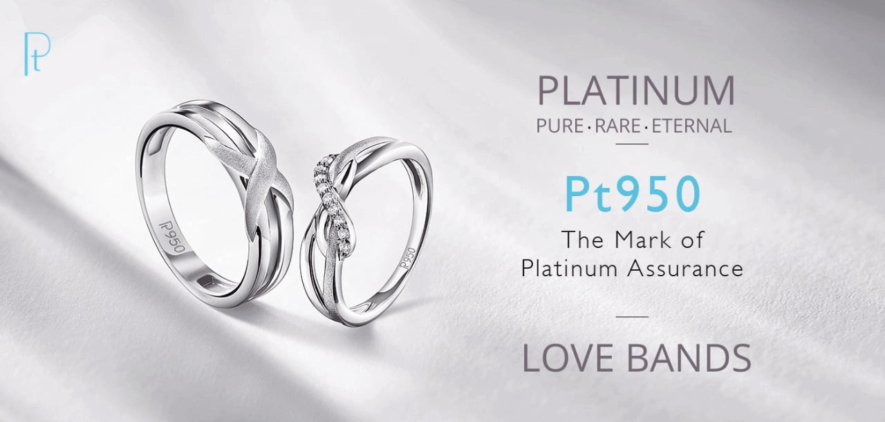 platinum love bands for couples